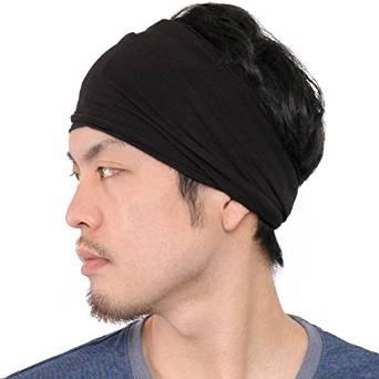A photograph of a cool headband for men with long hair and medium-length  hair 4a146ced8dd
